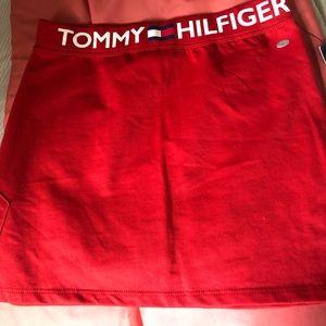 Red Tommy Hilfiger Girl's Skirt